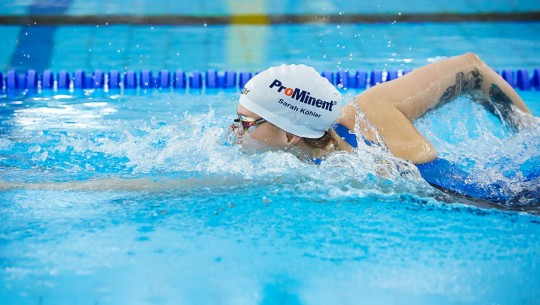 In water, she's in her element – ProMinent sponsors swimmer Sarah Köhler