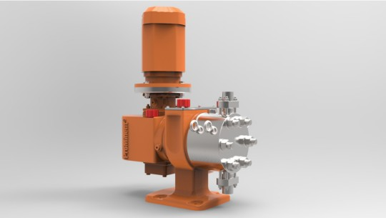 Process Hydraulic Diaphragm Metering Pump Orlita<sup>®</sup> Evolution API 674