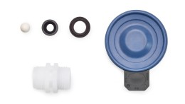 <p>Spare Parts Kits and Spare Diaphragms for Motor-Driven Metering Pump Sigma/ 1 (Control Type)</p>